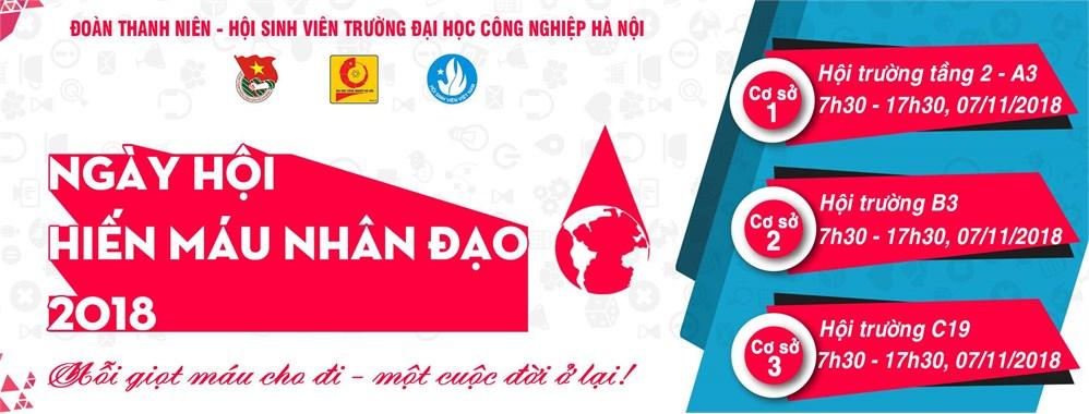 Kế hoạch tổ chức Ngày hội Hiến máu nhân đạo năm 2018