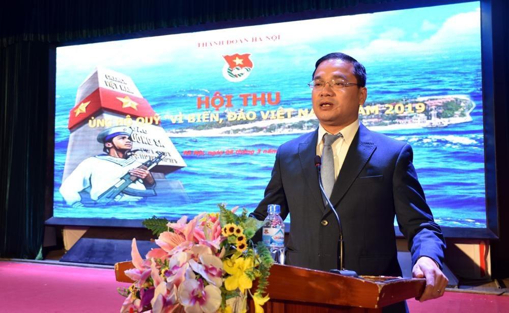 """Đoàn TN - Hội SV nhà trường tham gia ủng hộ Quỹ """"Vì biển, đảo Việt Nam"""" năm 2019"""