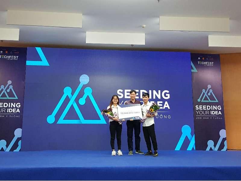 Sinh viên Đại học Công nghiệp Hà Nội đạt giải 01 giải Nhì và 02 giải Ba cuộc thi Seeding your idea – Ngày hội khởi nghiệp sáng tạo đổi mới quốc gia Techfest Vietnam 2019