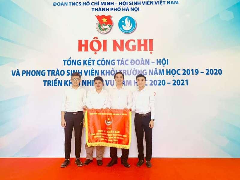 Đoàn Thanh niên - Hội Sinh viên Trường Đại học Công nghiệp Hà Nội: Đơn vị xuất sắc năm học 2019 – 2020