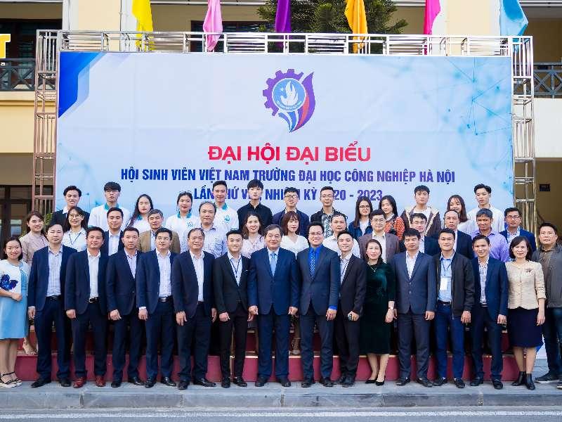 Đại hội Đại biểu Hội Sinh viên Đại học Công nghiệp Hà Nội lần thứ VIII, nhiệm kỳ 2020 – 2023 thành công tốt đẹp