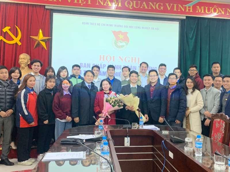 Hội nghị kiện toàn Ban Chấp hành, Ban Thường vụ Đoàn trường khóa IX, nhiệm kỳ 2019 – 2022